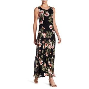 Nordstrom's West Kei Mesh Floral Maxi Dress
